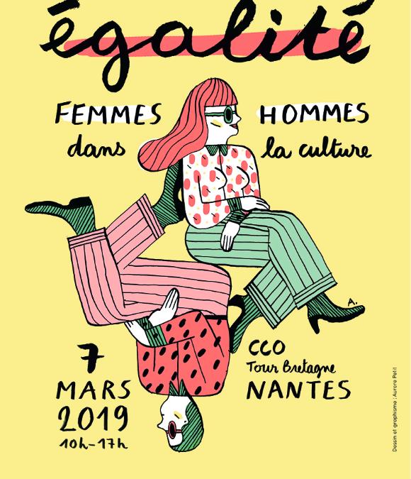 Première rencontre sur l'égalité femmes-hommes dans la Culture le 7 mars à Nantes