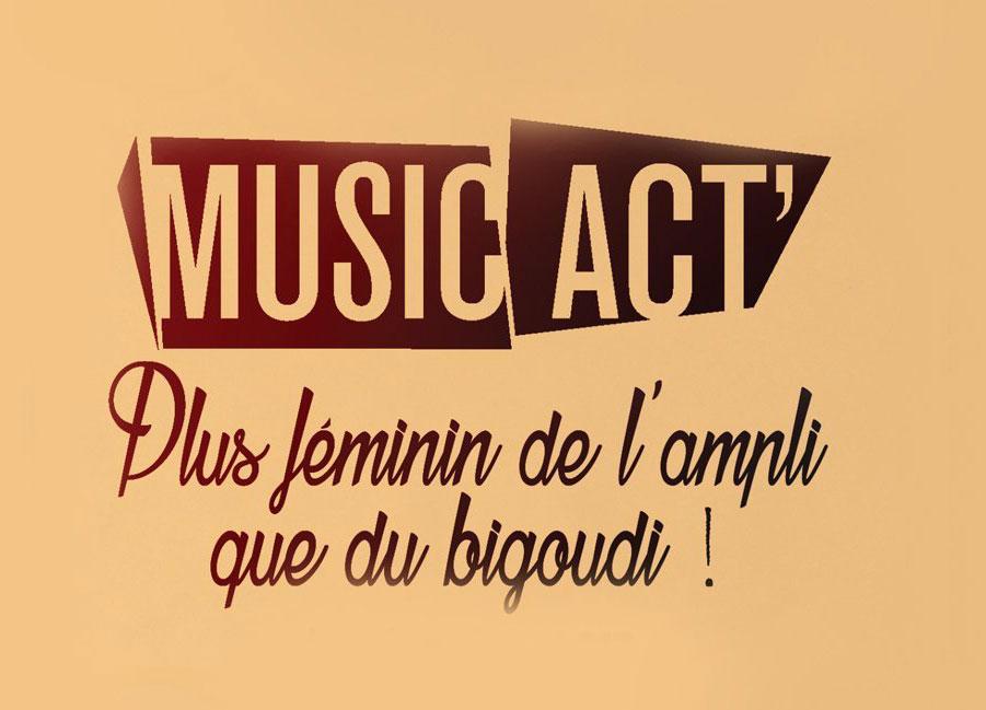 L'Echonova   Music Act : plus féminin de l'ampli que du bigoudi