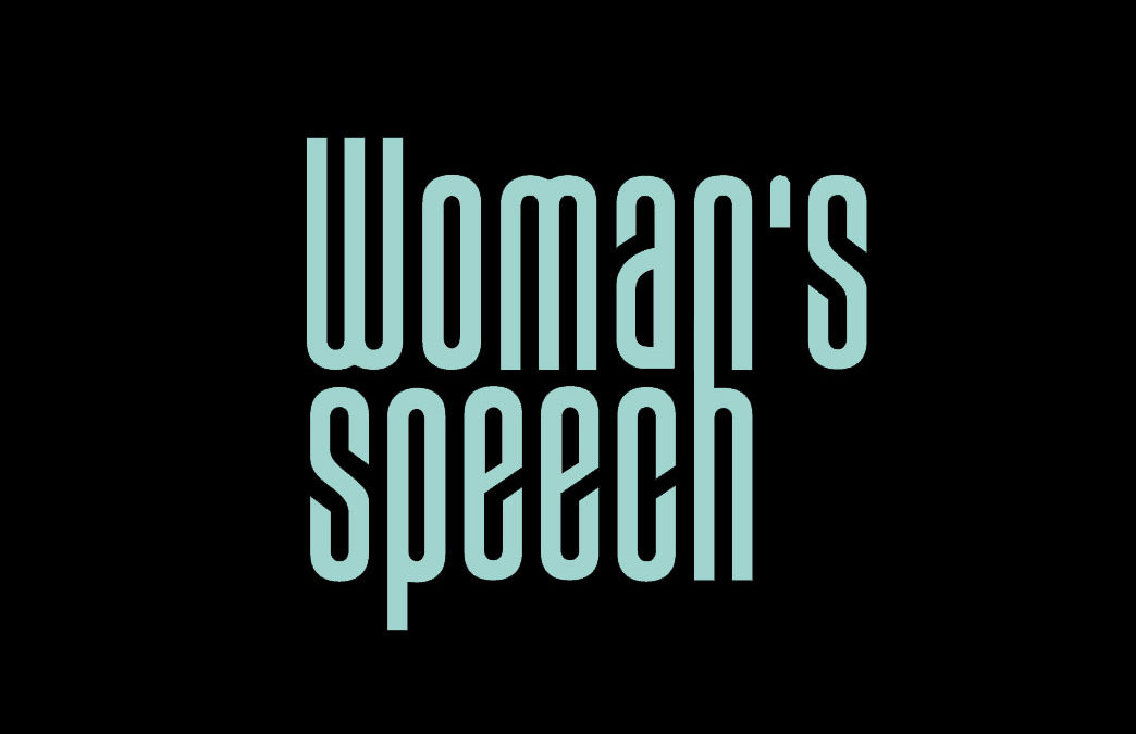 Woman's speech