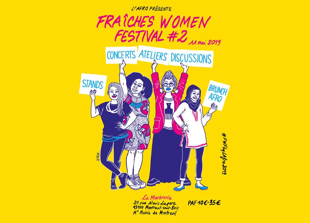 Fraiches women festival