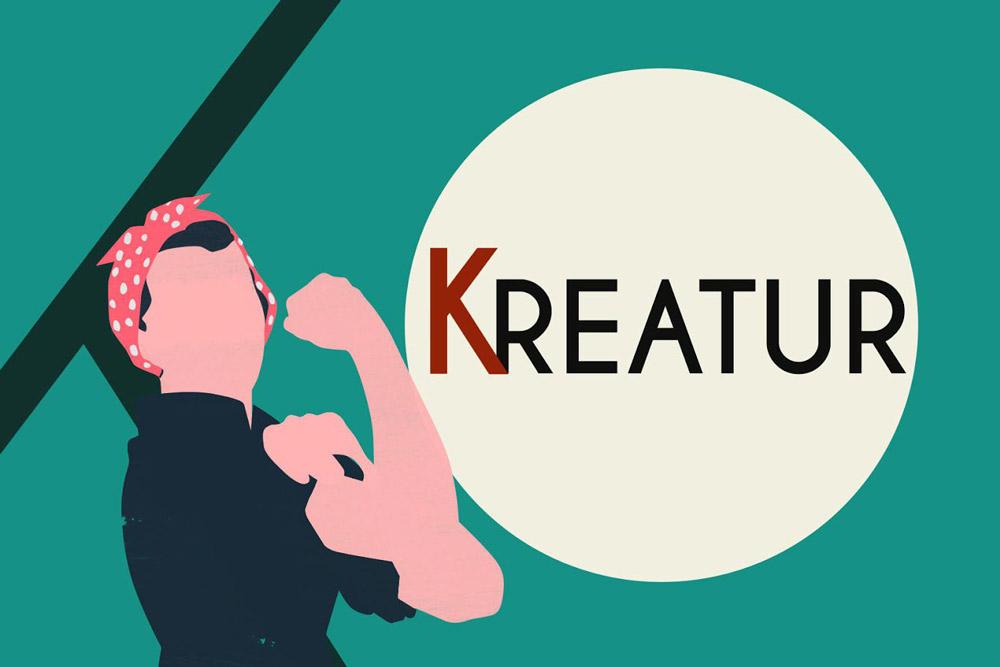 Kreatur, parce que les combats féministes méritent bien un magazine