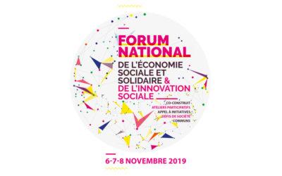 Forum de l'Économie Sociale et Solidaire (6-8 nov) : participez au parcours égalité !