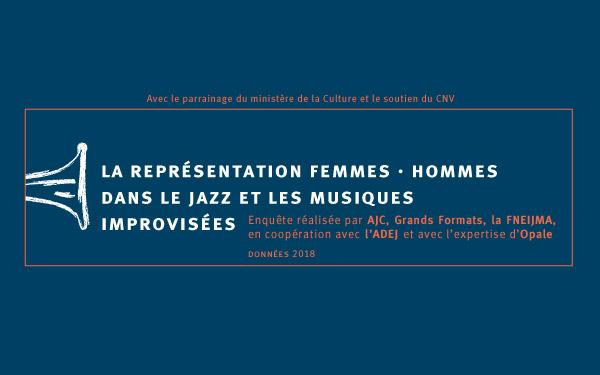 Découvrez les résultats de l'étude « La représentation femmes / hommes dans le jazz et musiques improvisées »