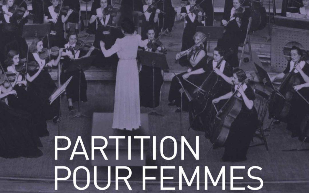 Partition pour femmes et orchestre, Ethel Stark et la Symphonie féminine de Montréal