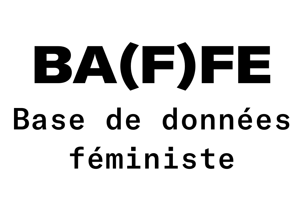 BA(F)FE, base de données féministes