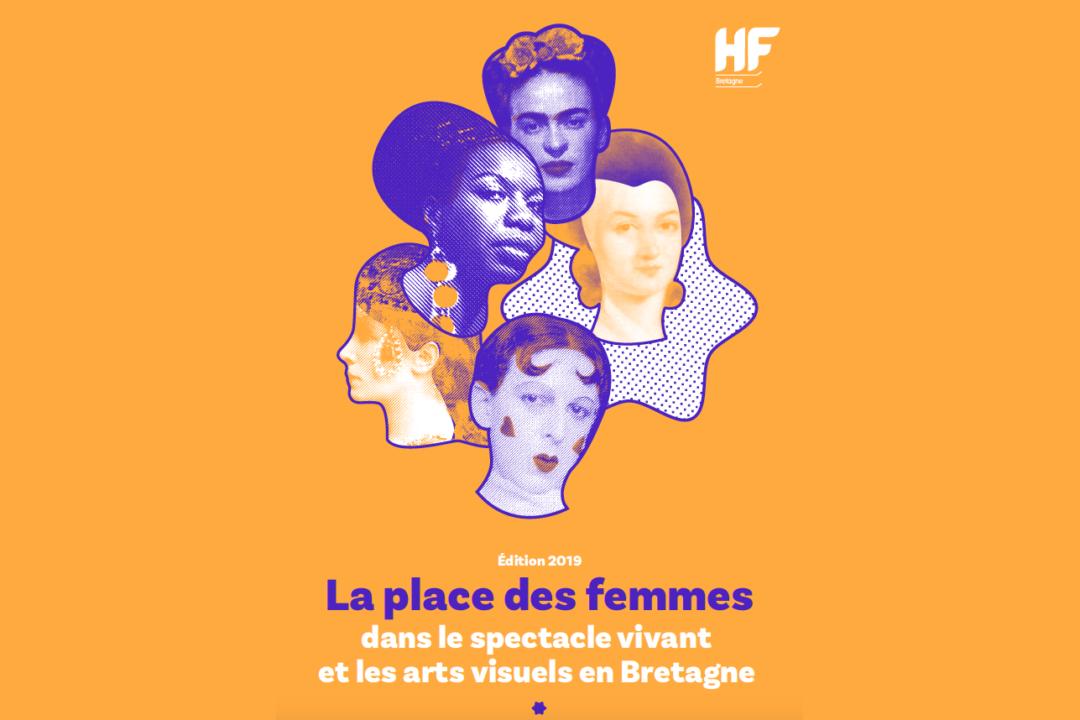 La place des femmes dans le spectacle vivant et les arts visuels en Bretagne – édition 2019