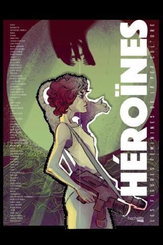 Héroïnes, les figures féminines de la pop culture