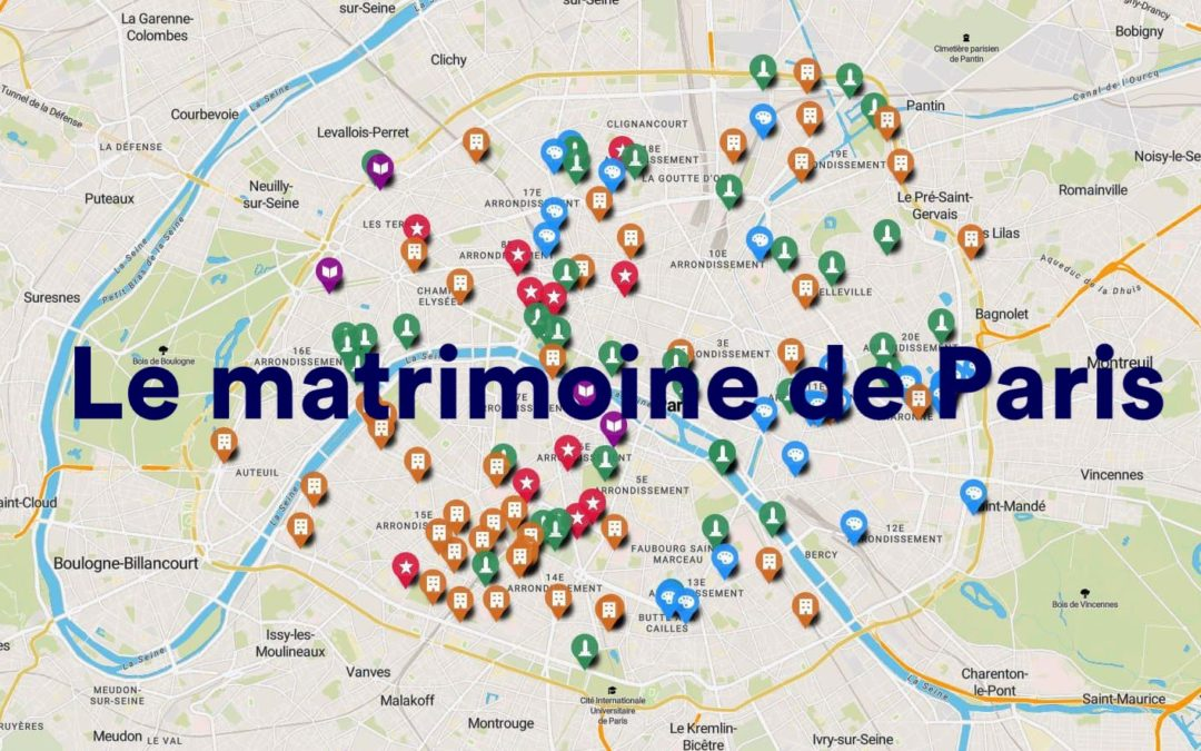 Le matrimoine de Paris