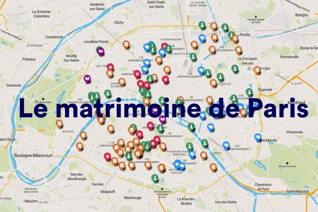 Le matrimoine de Paris