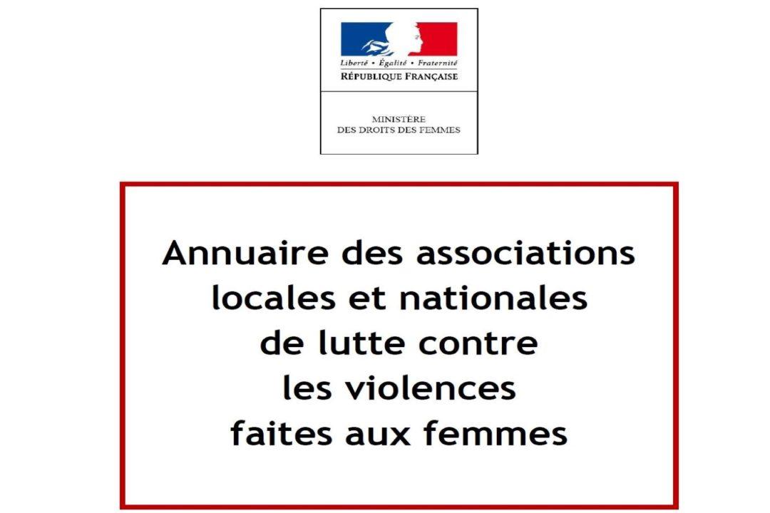 Annuaire des associations locales et nationales de lutte contre les violences faites aux femmes (2012).