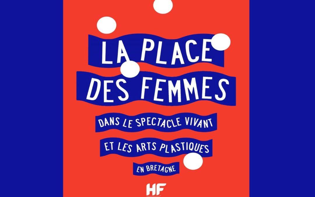 La place des femmes dans le spectacle vivant et les arts plastiques en Bretagne – saison 2014-2015