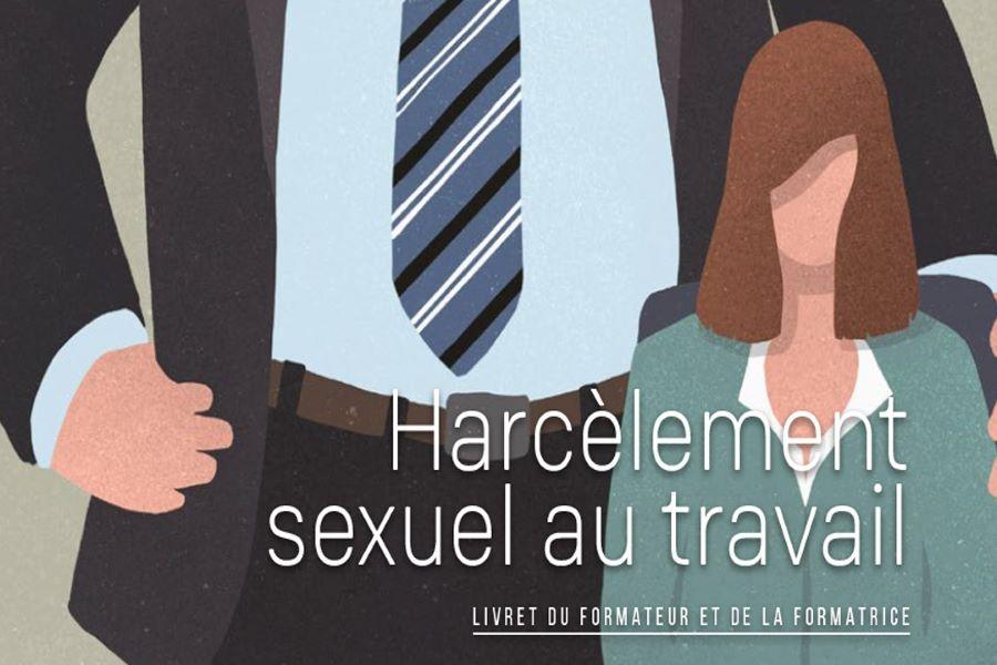 Harcèlement sexuel au travail – livret du formateur et de la formatrice