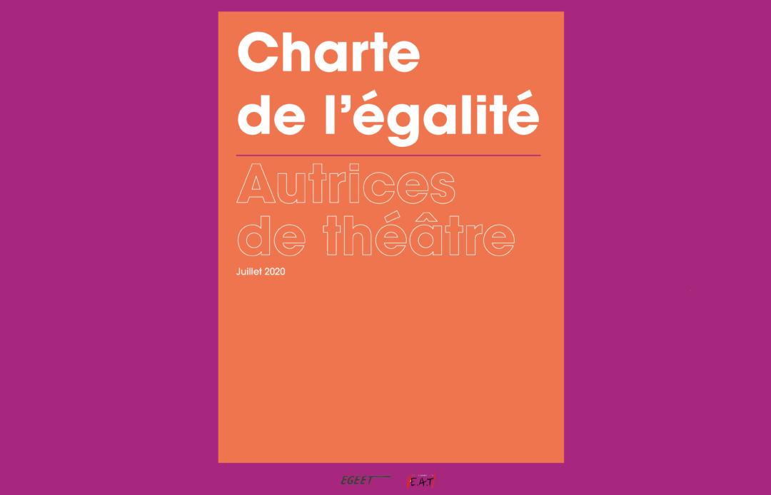 Charte de l'égalité, autrices de théâtre