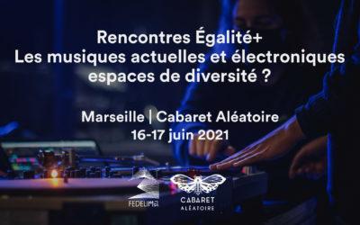 Participez aux rencontres nationales Égalité+ : les musiques actuelles et électroniques, espaces de diversité ?
